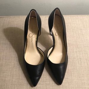 Jessica Simpson Paryn Black heels size 7.5